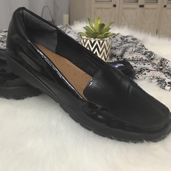 Black Patent Leather Flats | Poshmark